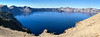 Crater Lake panorama from the eastern rim.