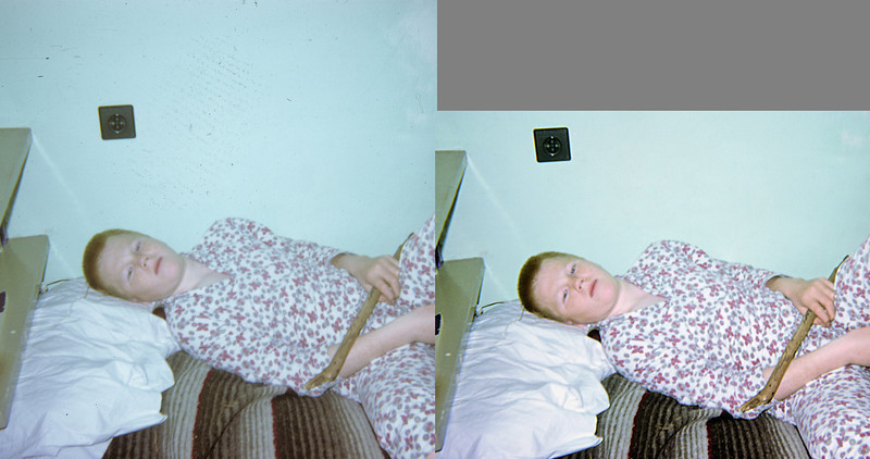 Before and after: me ACS dorm room 1968.
