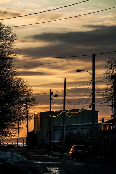© 2014 Anne Henning - Hull sunset