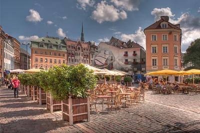 Old Town Riga, Latvia HDR.