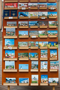 Postcards, Tallinn, Estonia.