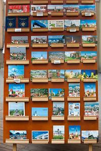 Postcards, Tallinn, Estonia.