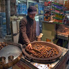 Selling chestnuts, Milan, Italy HDR.