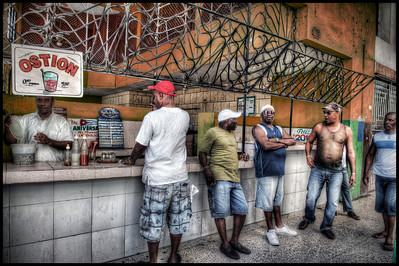 The Boys, Havana, Cuba - HDR.