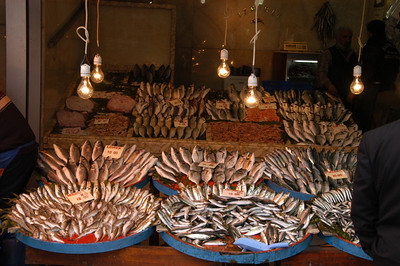 Fresh fish, Princes Islands, Turkey.