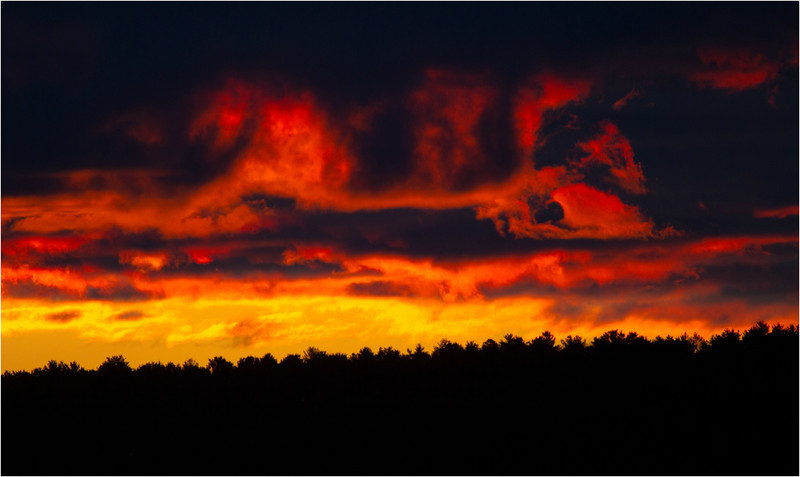 © 2014 Steve Schroeder - Fire at Sunrise