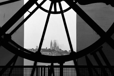 Sacre Coeur from Musée d'Orsay