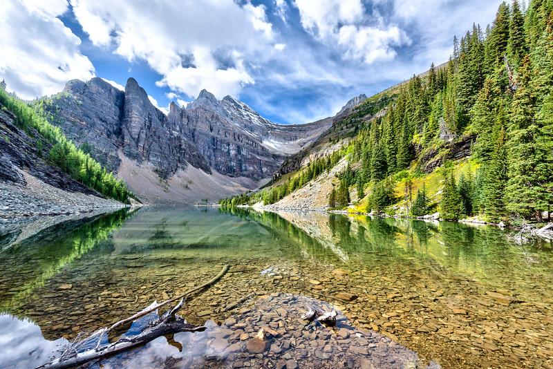Agnes Lake. Above Lake Louise, Alberta