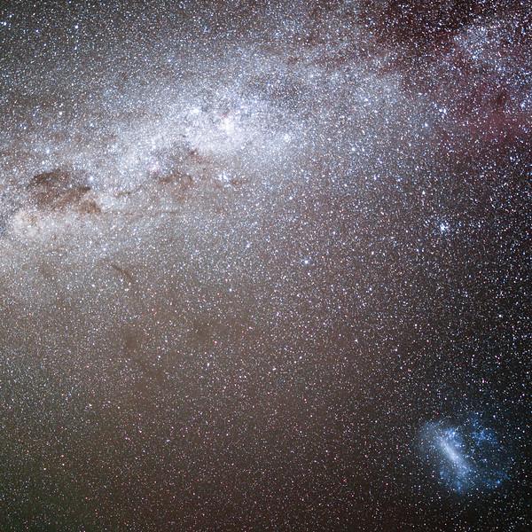 Northern Territory, Uluru - LMC and Eta Carina