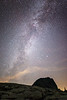 Whatcom, Artist Point - Milky Way and top of Table Mountain