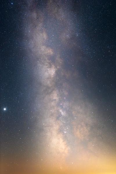 Columbia, Vantage - Milky Way vertical 35mm