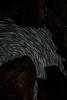 Vantage, Frenchman Coulee - Star trails seen through basalt columns