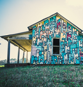 Painted Barns at Cameron NC