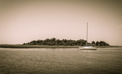 Sailboat at Beaufort