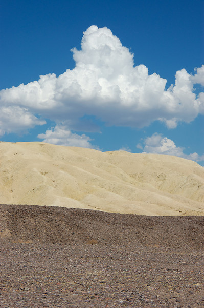 Death Valley hues.