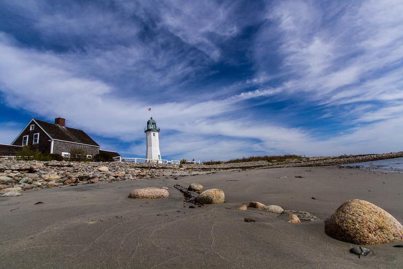 © 2014 Myrna Walsh - Lighthouse from the Beach