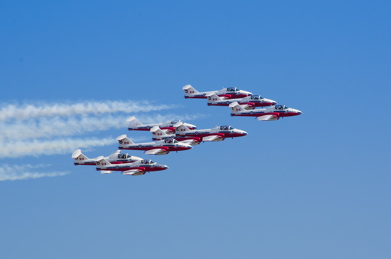 Snowbirds. Abbotsford, B.C.
