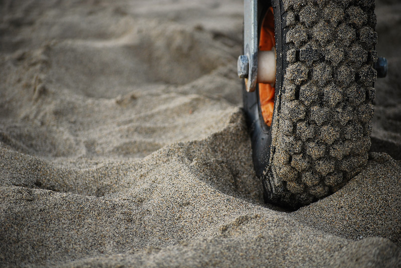 Treading Sand