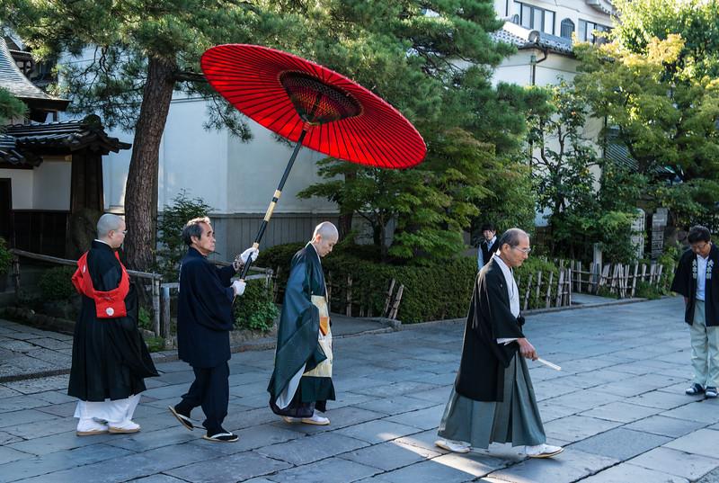Abbess, Buddhist Temple, Nagano, Japan