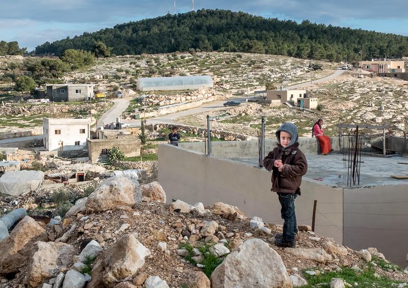 Palestinian boy, West Bank, Israel
