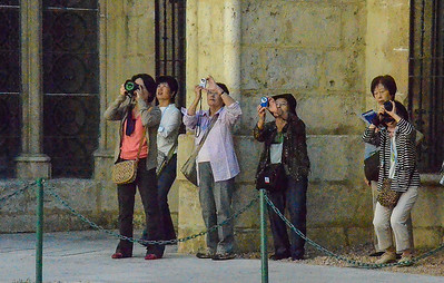 Photographing Burgos Cathedral, Spain