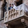 Juliet's balcony, Verona, italy