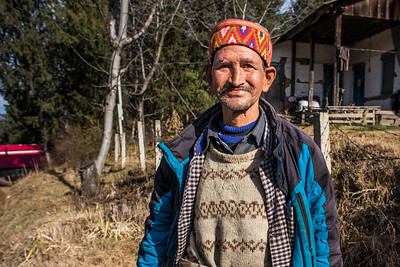 Man in a hat, Himachal Pradesh, India