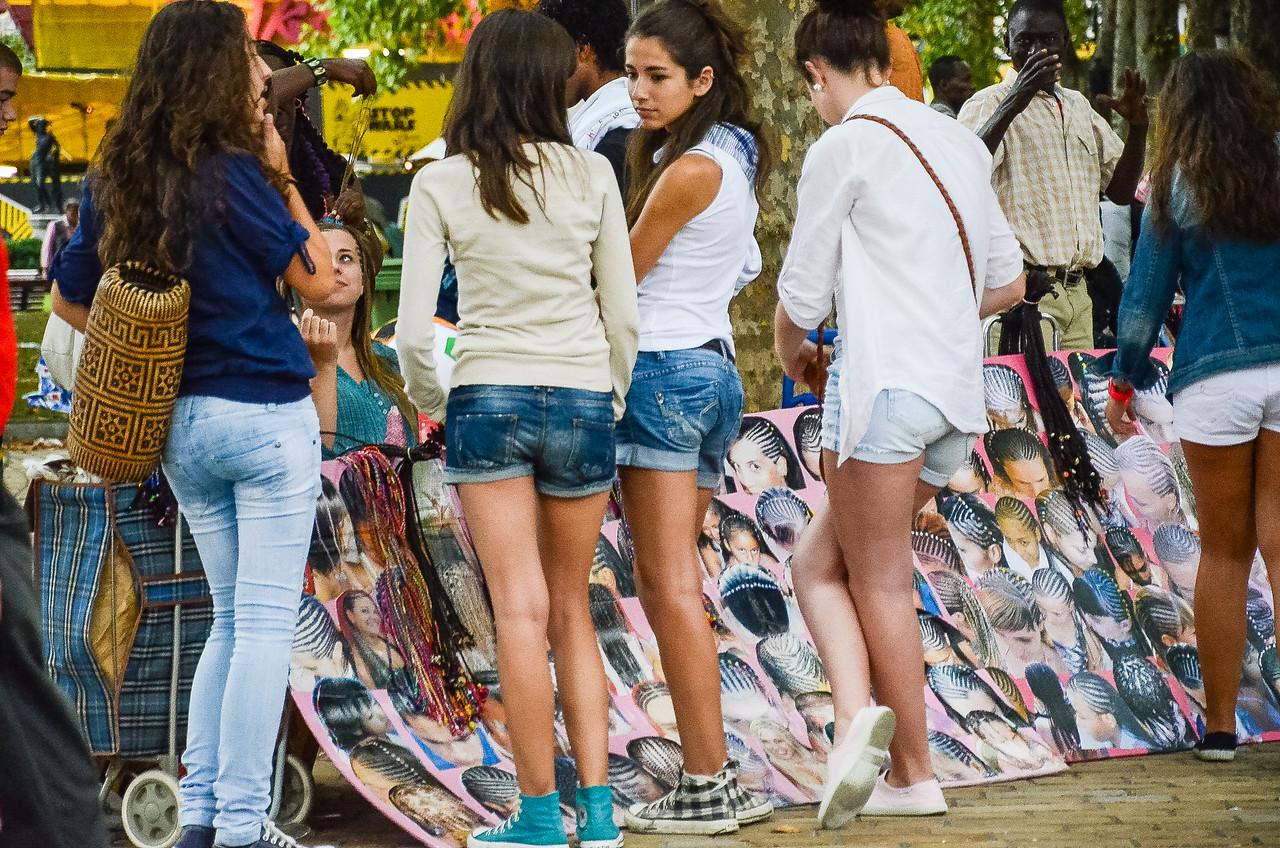 Young girls, Bilbao, Spain