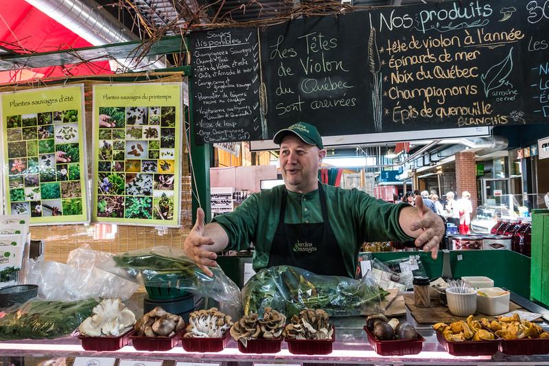 Merchant, Marche Talon, Montreal, Canada
