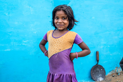 Young model, Ranchha village, Madhya Pradesh, India