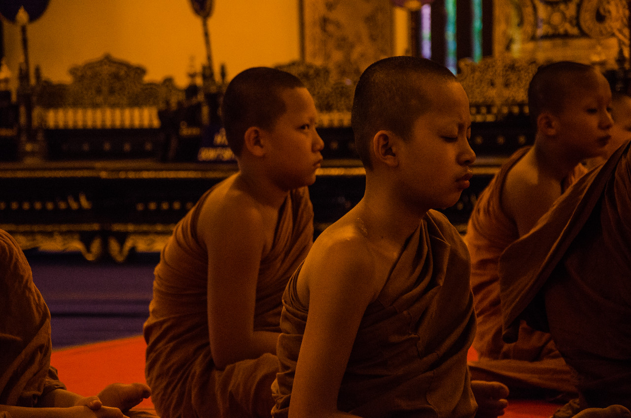 Young Monks, Chaing Mai, Thailand