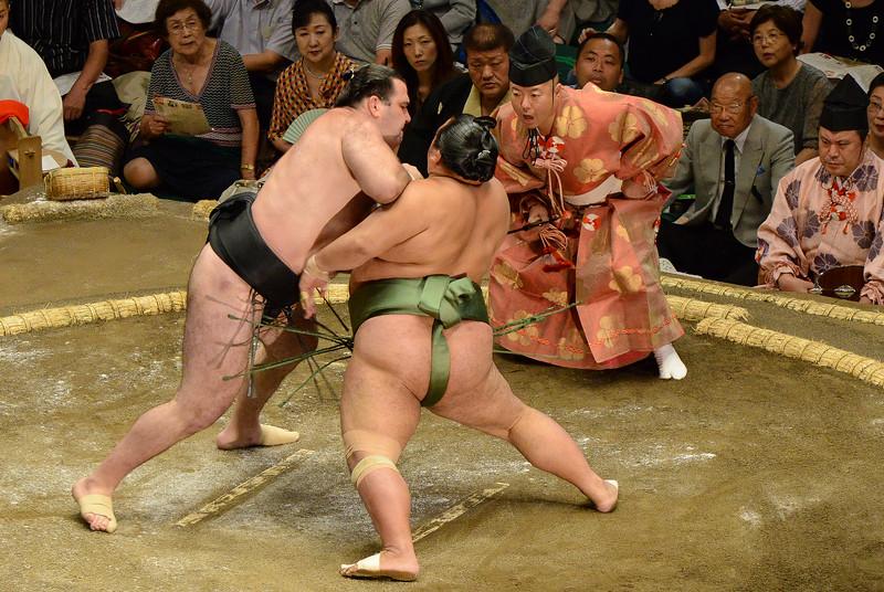 Sumo championship, Tokyo, Japan