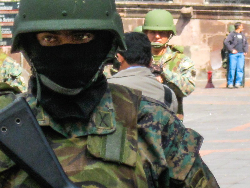 Soldier, Quito, Ecuador