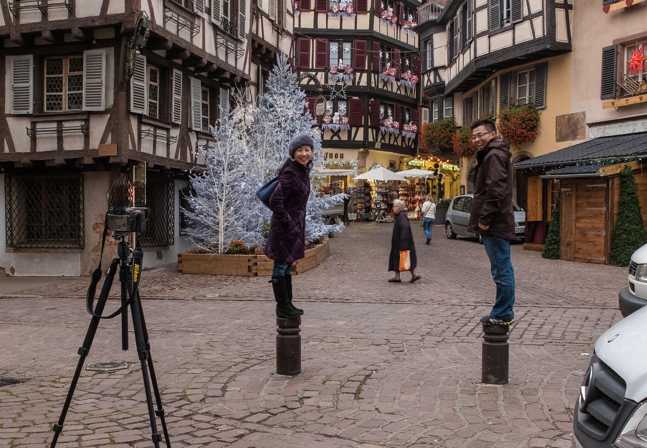 Selfies, Colmar, France