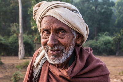 Portrait, Ranchha village, Madhya Pradesh, India