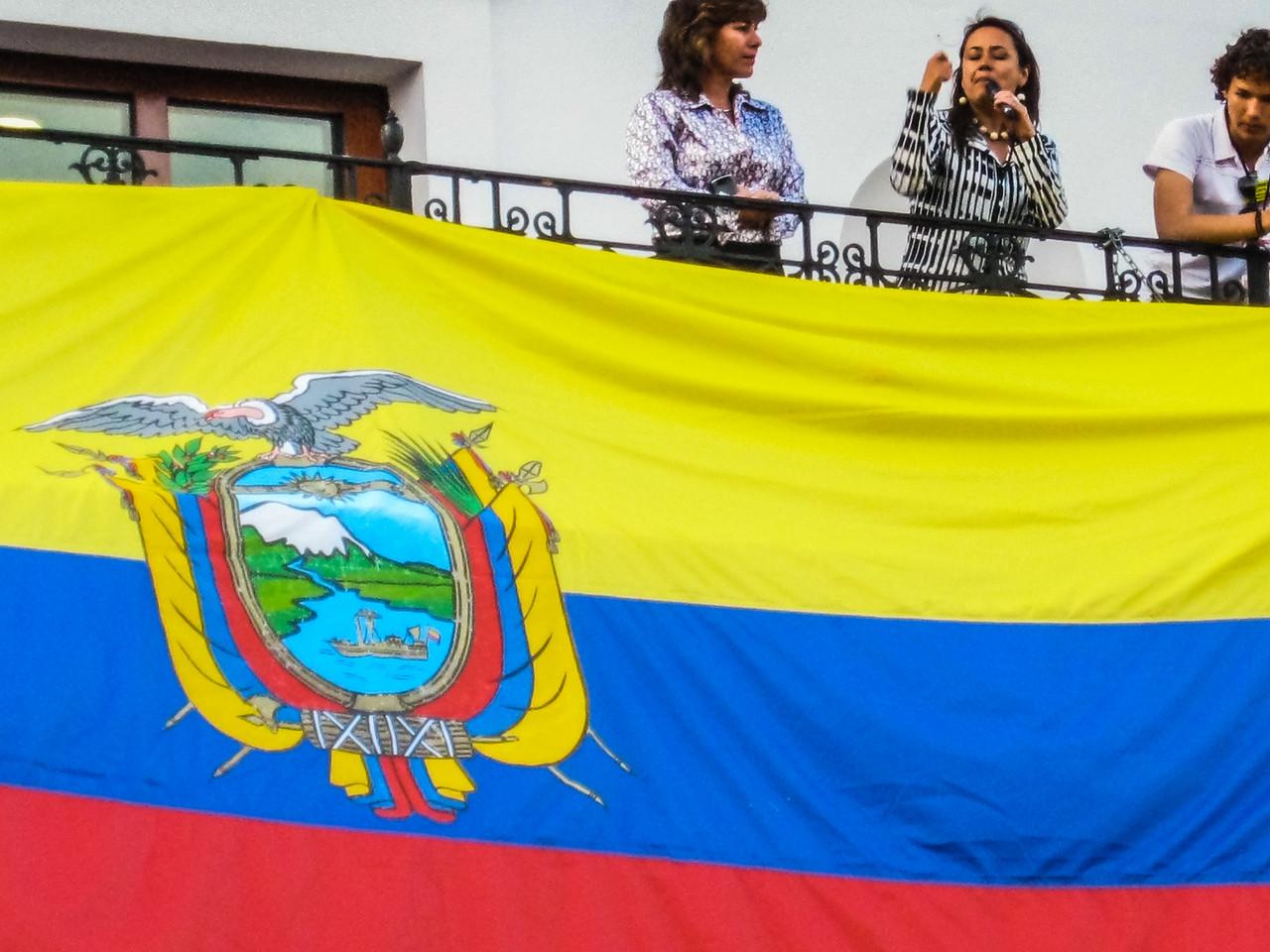 Politicians, Quito, Ecuador