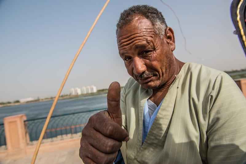 Carriage driver, Edfu, Egypt