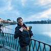 Father and son, Prague, Czech Repubic