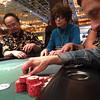 Poker table, The Flamingo, Las Vegas, Nevada