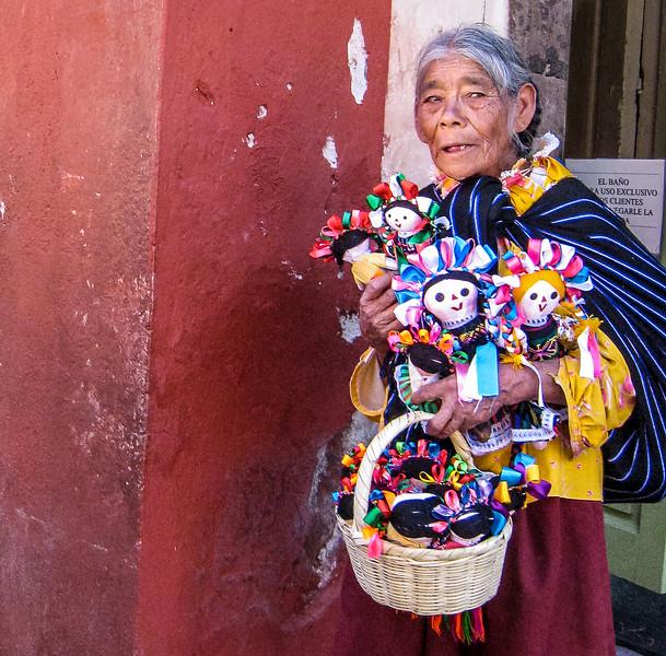 Doll Vendor, San Miguel de Allende, Mexico