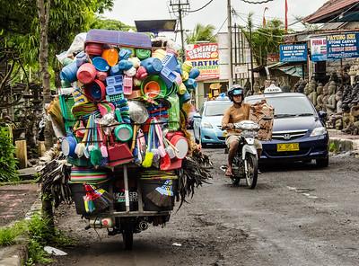 Scooter, Ubud, Bali
