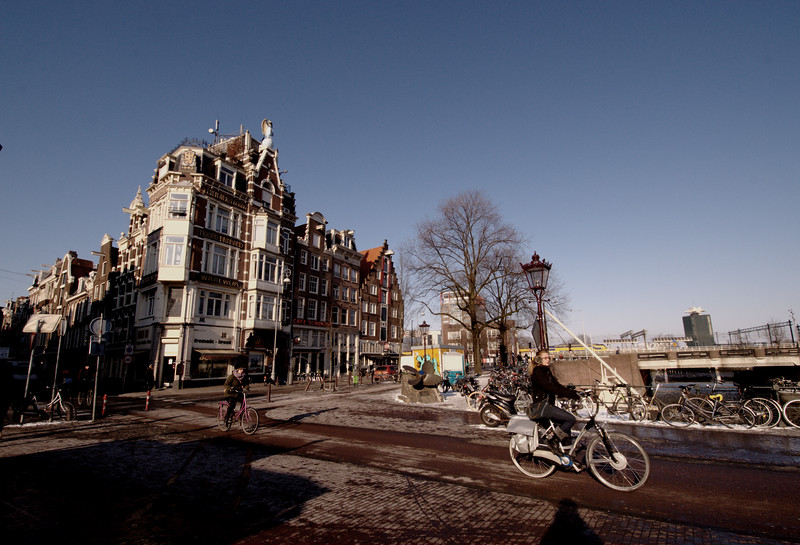 Winter Cycling, Amsterdam