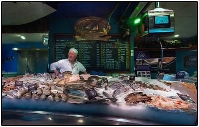 Fishmonger, Howth, Ireland.