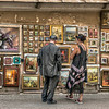 HDR: At the Street Market, Vilnius, Lithuania.
