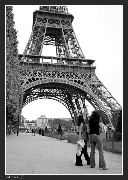 Measuring the Eiffel Tower