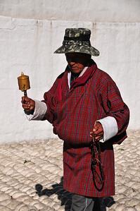 National Memorial Chorten in Timphu