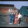 Kids and tanker, Brasov, Transylvania, Romania.