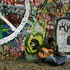 Peace Player<br /> The John Lenon Wall, Prague