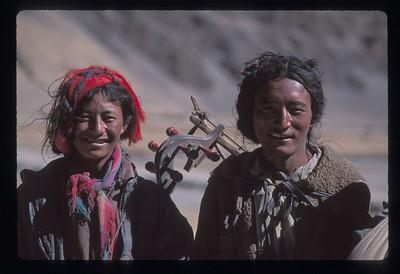Nomads, Tibet.