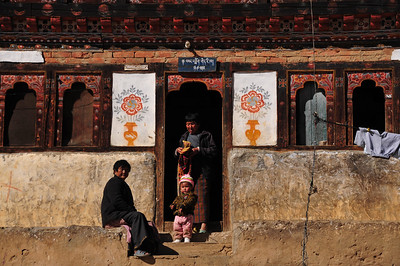 Visiting Drukgyel Dzong near Paro